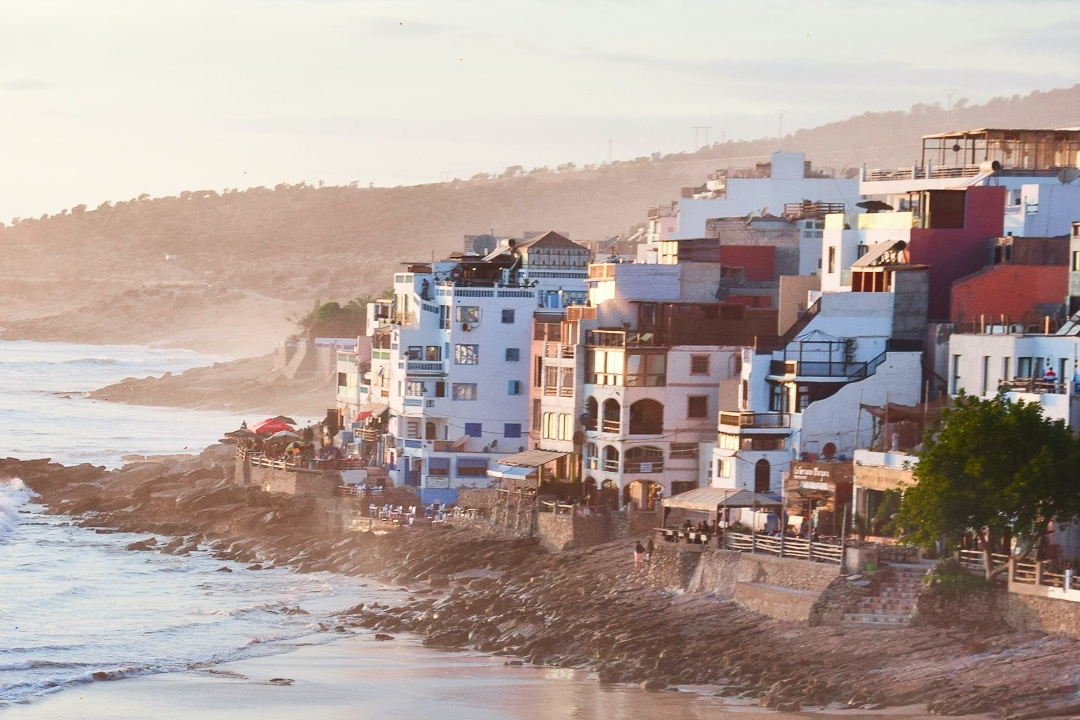 Taghazout Beach Area
